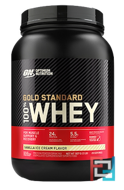 100% Whey Gold Standard, Optimum Nutrition, 2 lb, 909 g