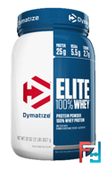 Elite 100% Whey Protein Powder, Dymatize Nutrition, 2 lbs, 907 g