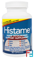 Histame, Food Intolerance Support Supplement, Naturally Vitamins, 30 Capsules
