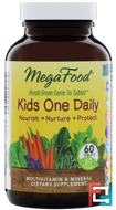 MegaFood, Kid's One Daily, 60 Tablets