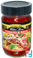 Pasta Sauce, Tomato & Basil, (Паста соус, помидоры и базилик), Walden Farms, 340 g