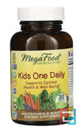 Kid's One Daily, MegaFood, 30 Tablets