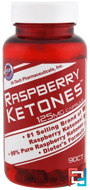 Hi-Tech Pharmaceuticals, Raspberry Ketones, 125 mg , 90 Capsules