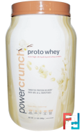 Proto Whey, Power Crunch, Vanilla Cream, BNRG, 2.1 lbs (949 g)