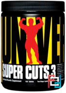 Super Cuts 3, Two-Stage Lipotropic & Diuretic Complex, Universal Nutrition, 130 Tablets
