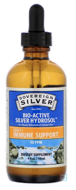Bio-Active Silver Hydrosol Dropper-Top, 10 PPM, Sovereign Silver, 4 fl oz (118 ml)