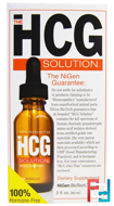 The HCG Solution, Nigen Biotech, 2 fl oz (60 ml)