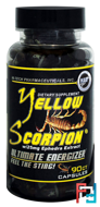 Yellow Scorpion (Желтый Скорпион), Hi-Tech Pharmaceuticals, 90 capsules