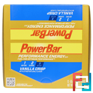 Performance Energy Bar, Vanilla Crisp, PowerBar, 12 Bars, 2.29 oz (65 g) Each