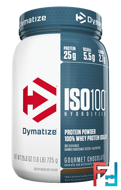ISO•100 Hydrolyzed, 100% Whey Protein Isolate, Dymatize Nutrition, 1.6 lb, 728 g
