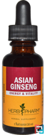 Asian Ginseng, Herb Pharm, 1 fl oz, 30 ml