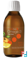 NutraSea, High DHA Omega-3, Juicy Citrus Flavor, Ascenta, 6.8 fl oz, 200 ml