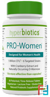 PRO-Women. Designed for Women's Health, Hyperbiotics, 5 Billion CFU, 30 Tablets