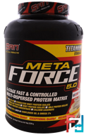 Metaforce 5.0, Vanilla Almond, SAN Nutrition, 78.6 oz (2228 g)