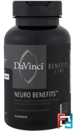 Neuro Benefits, DaVinci Benefits, 90 Capsules