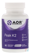 Advanced Series, Peak K2, Advanced Orthomolecular Research AOR, 90 Veggie Caps