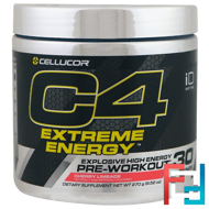 C4 Extreme Energy, Pre-Workout, Cellucor, 9.52 oz, 270 g