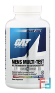 Mens Multi + Test, GAT, 150 Tablets