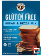 Gluten Free, Bread & Pizza Mix, King Arthur Flour, 18.25 oz (517 g)