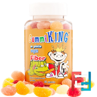 Fiber, Gummi King, 60 Gummies