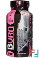 Burn, Women's 6 Stage Fat Burning System, FitMiss, 90 Capsules