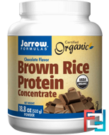 Organic, Brown Rice Protein Concentrate, Jarrow Formulas, 532 g