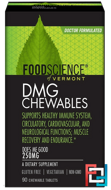 DMG Chewables , 250 mg, FoodScience, 90 Chewable Tablets