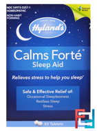 Calms Forte, Sleep Aid, Hyland's, 50 Tablets