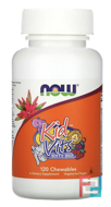 Kid Vits, Berry Blast, Now Foods, 120 Chewables
