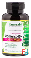 CoEnzymated Women's 45+, Multi Vit-A-Min, Emerald Laboratories, 30 Veggie Caps