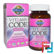 Vitamin Code, Women, Raw Whole Food Multivitamin, Garden of Life, 120 Veggie Caps
