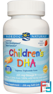 Children's DHA, Strawberry, Nordic Naturals, 360 Soft Gels