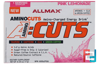 AMINOCUTS (ACUTS), Weight-Loss BCAA (CLA + Taurine + Green Coffee), ALLMAX Nutrition, 0.25 oz, 7 g
