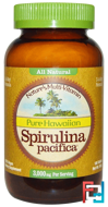 Pure Hawaiian Spirulina Pacifica, Nature's Multi-Vitamin, Nutrex Hawaii, 1,000 mg, 180 Tablets