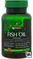Fish Oil, PureMark Naturals, 1950 mg, 90 Softgels