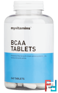 BCAA, Myvitamins, 1000 mg, 240 tablets