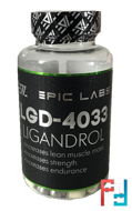 Ligandrol LGD-4033, Epic Labs, 8 mg, 90 caps