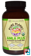 Organic Amla Plus, Pure Planet, 114 g