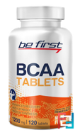BCAA Tablets, Be First, 120 tablets