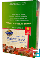 Organic, Perfect Food, Chocolate Covered Greens Bar, Chocolate Raspberry, Garden of Life, 12 Bars, 2.25 oz (64 g) Each