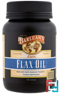 Lignan Flax Oil, Barlean's, 100 Softgels