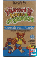 Yummi Bears Organics, Multi-Vitamin, Hero Nutritional Products, 90 Gummy Bears