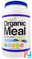 Organic Meal, All-In-One Nutrition, Orgain, 2.01 lbs, 912 g