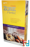 Classic, All-Natural Nutrition Bars, Chocolate Almond Raisin, ZonePerfect, 12 Bars, 1.76 oz (50 g) Each