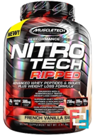 Nitro Tech, Ripped, Ultimate Protein + Weight Loss Formula, Muscletech, 4 lb, 1810 g