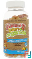 Yummi Bears Organics, Complete Multi-Vitamin, Hero Nutritional Products, 180 Gummy Bears