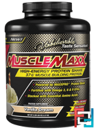 High Energy + Muscle Building Protein, MuscleMaxx, 5 lb, 2270 g