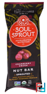 Soul Sprout, Nut Bar, Cranberry Crush, Two Moms in the Raw, 1.5 oz (43 g)