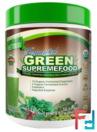 Unsweetened, Divine Health, Fermented Green Supremefood, 6.77 oz (192 g)
