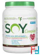 Soy Complete Protein Weight Loss Meal Replacement, Chocolate, NovaForme, 1.2 lbs